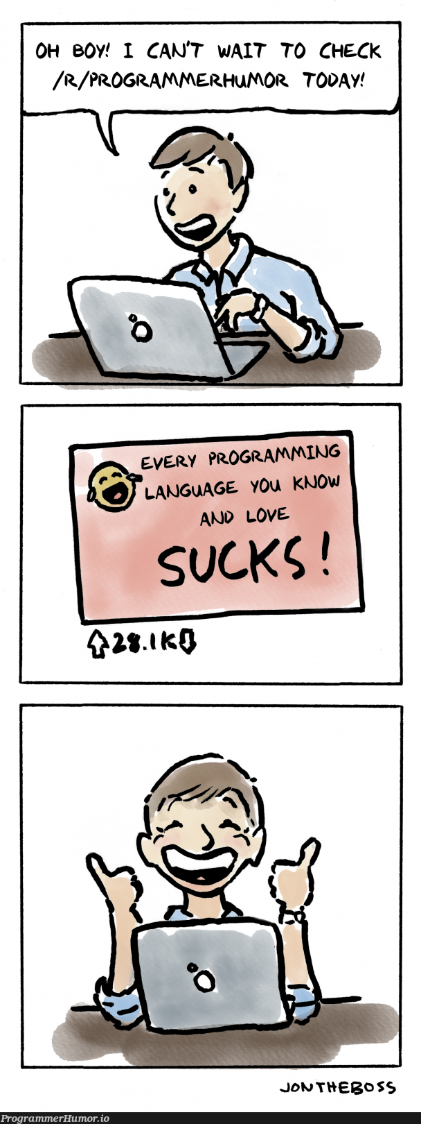 This sub in a nutshell | programmer-memes, program-memes, shell-memes, language-memes | ProgrammerHumor.io