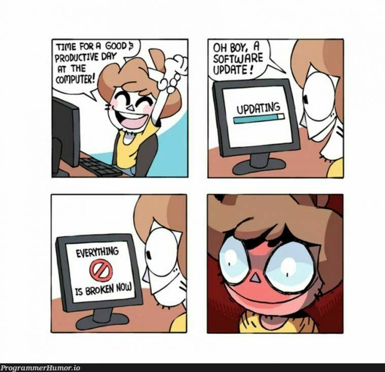 Windows 10 be like | windows-memes | ProgrammerHumor.io