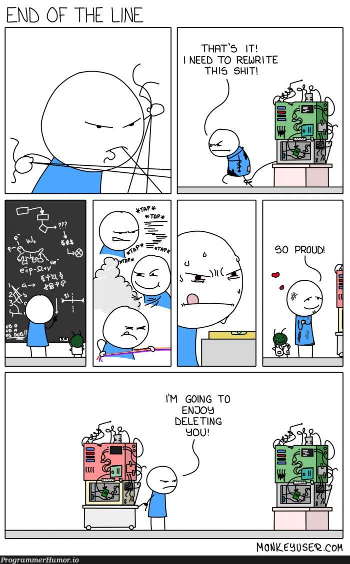 Refactoring | ProgrammerHumor.io