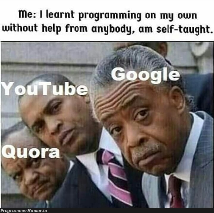 PhD in googling | programming-memes, program-memes | ProgrammerHumor.io