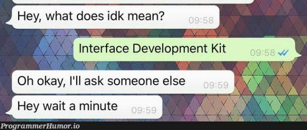 LMAO gottem   development-memes   ProgrammerHumor.io
