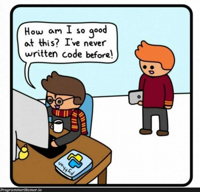 "Print ""hello world""   code-memes   ProgrammerHumor.io"