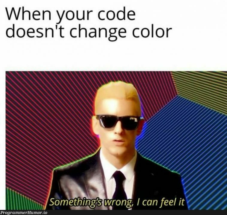 All programmers can surely relate to this   programmer-memes, program-memes   ProgrammerHumor.io