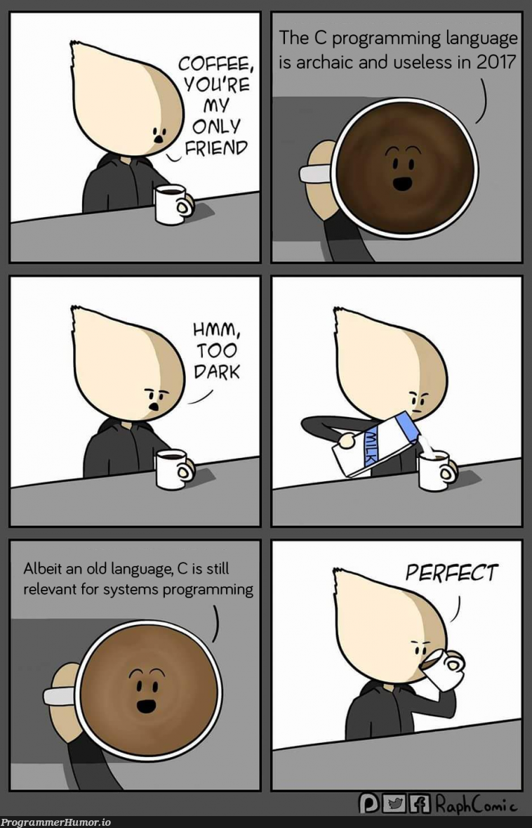 When people don't believe you that C is still used | programming-memes, program-memes, c-memes, language-memes, programming language-memes | ProgrammerHumor.io