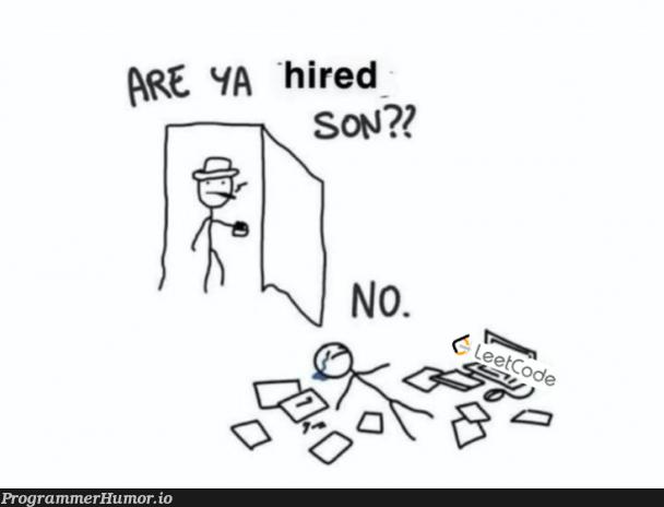 Finding an entry-level job be like | try-memes | ProgrammerHumor.io