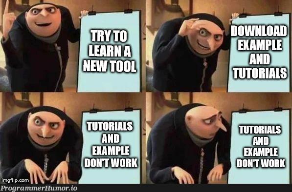 gru learns a new tool   ProgrammerHumor.io