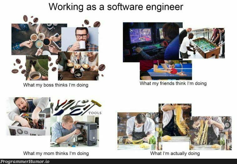 Spaghetti coding! | coding-memes, software-memes, engineer-memes, software engineer-memes | ProgrammerHumor.io