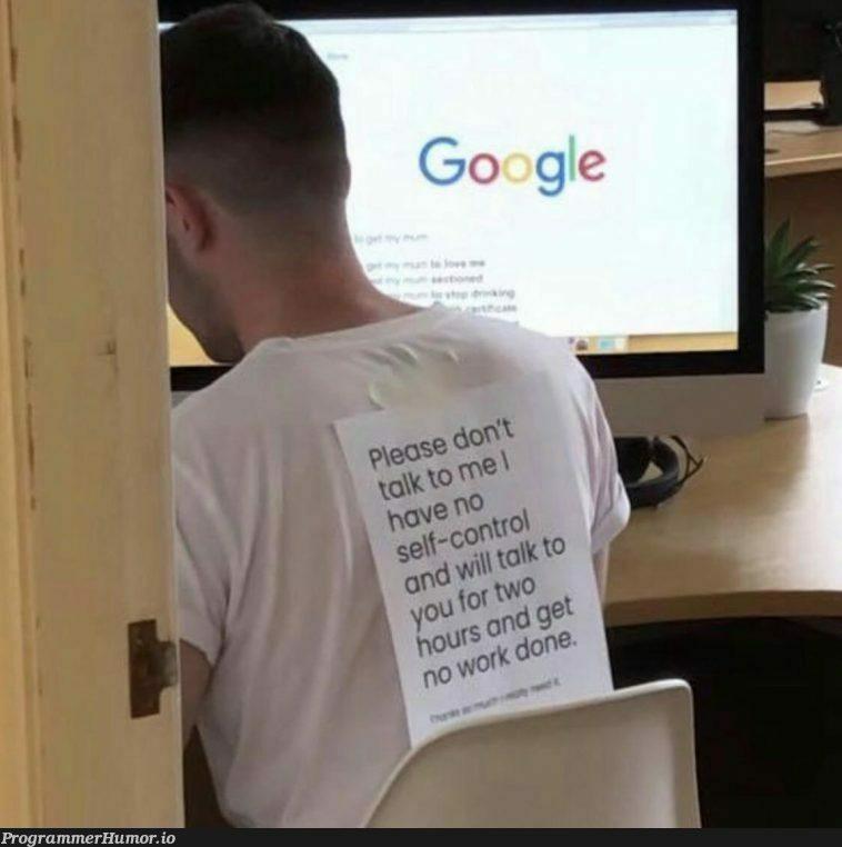 Well...   ProgrammerHumor.io