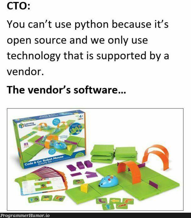 Working in finance...   software-memes, tech-memes, technology-memes, python-memes, open source-memes   ProgrammerHumor.io